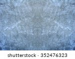 painted color on grunge... | Shutterstock . vector #352476323
