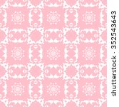 tints of pink seamless pattern  ... | Shutterstock .eps vector #352543643
