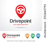 drive point logo template... | Shutterstock .eps vector #352663793