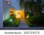 big modern house | Shutterstock . vector #352719173