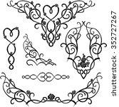 Rose Vine Ornaments Variation...