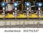 pressure transmitter in oil and ...   Shutterstock . vector #352751537