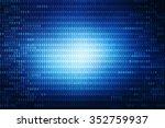 digital abstract business... | Shutterstock . vector #352759937