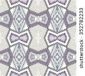 vector seamless pattern.... | Shutterstock .eps vector #352782233