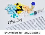 Постер, плакат: Drugs for obesity treatment