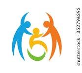 disable logo vector. | Shutterstock .eps vector #352796393