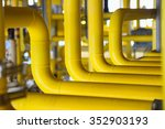 pipelines on oil and gas... | Shutterstock . vector #352903193
