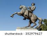 Statue Of Honor Aka Ataturk...
