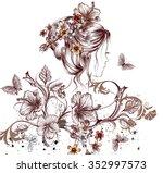 Fashion Illustration With...
