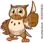 vector cartoon clip art... | Shutterstock .eps vector #353055833