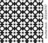 abstract black and white... | Shutterstock .eps vector #353144747