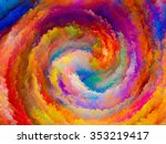 colors of imagination series.... | Shutterstock . vector #353219417