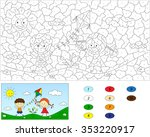 Color By Number Educational...