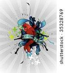 fish vector illustration | Shutterstock .eps vector #35328769