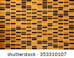 surface of mosaic in ancient... | Shutterstock . vector #353310107