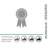 award icon | Shutterstock .eps vector #353363903