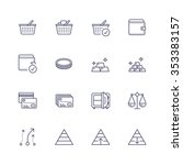 finance icons | Shutterstock .eps vector #353383157