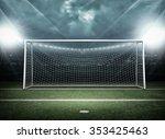 goal post | Shutterstock . vector #353425463