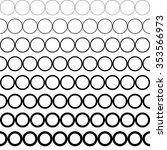 seamless black and white... | Shutterstock .eps vector #353566973
