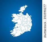map of ireland   Shutterstock .eps vector #353590277