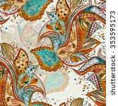 texture seamless watercolor... | Shutterstock . vector #353595173