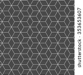 seamless geometric pattern of... | Shutterstock .eps vector #353653607