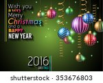 awesome 2016 happy new year...   Shutterstock .eps vector #353676803