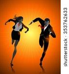 corporate active competition... | Shutterstock .eps vector #353762633