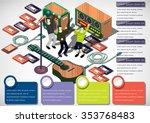 illustration of info graphic... | Shutterstock .eps vector #353768483