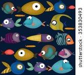fishes   Shutterstock .eps vector #353830493