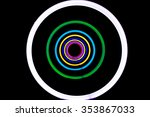 abstract shiny colorful neon... | Shutterstock . vector #353867033