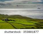 Pastures At The Coast Of Ireland