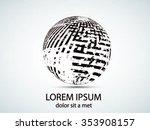 logo design. vector... | Shutterstock .eps vector #353908157