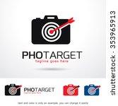 photo target logo template... | Shutterstock .eps vector #353965913