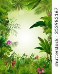 tropical background beautiful... | Shutterstock .eps vector #353982167