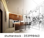 Abstract Sketch Design Of...