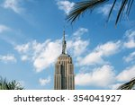 new york   june 11  the empire... | Shutterstock . vector #354041927