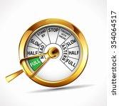 engine room telegraph   full... | Shutterstock .eps vector #354064517