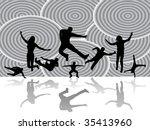 illustration of sport... | Shutterstock .eps vector #35413960