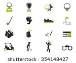 golf symbol for web icons | Shutterstock .eps vector #354148427