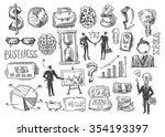 beautiful hand drawn sketch... | Shutterstock .eps vector #354193397