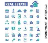 real estate  agent  agency ... | Shutterstock .eps vector #354206663