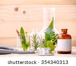 alternative health care fresh... | Shutterstock . vector #354340313
