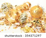 christmas decor | Shutterstock . vector #354371297