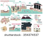 beautiful graphic design of... | Shutterstock .eps vector #354374537
