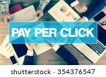 Small photo of Business Concept: PAY PER CLICK