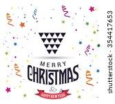 christmas star  | Shutterstock .eps vector #354417653