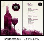 invitation template for event... | Shutterstock .eps vector #354481247