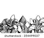 underground design for brochure ... | Shutterstock .eps vector #354499037