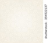 seamless floral pattern. damask ... | Shutterstock .eps vector #354522137